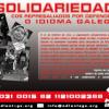 Solidariedade cos mozos represaliados por defenderen o galego