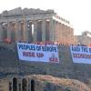 Grecia en folga! Primeiro día