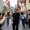 Concentración solidaria en Vigo pola liberdade de Otegi