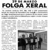 Boletín informativo arredor da folga xeral