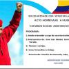 Acto homenaxe a Hugo Chávez en Vigo