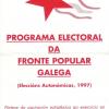 Programa da FPG para as Eleccións Galegas do 97