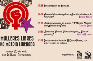 Mulleres libres na Matria liberada